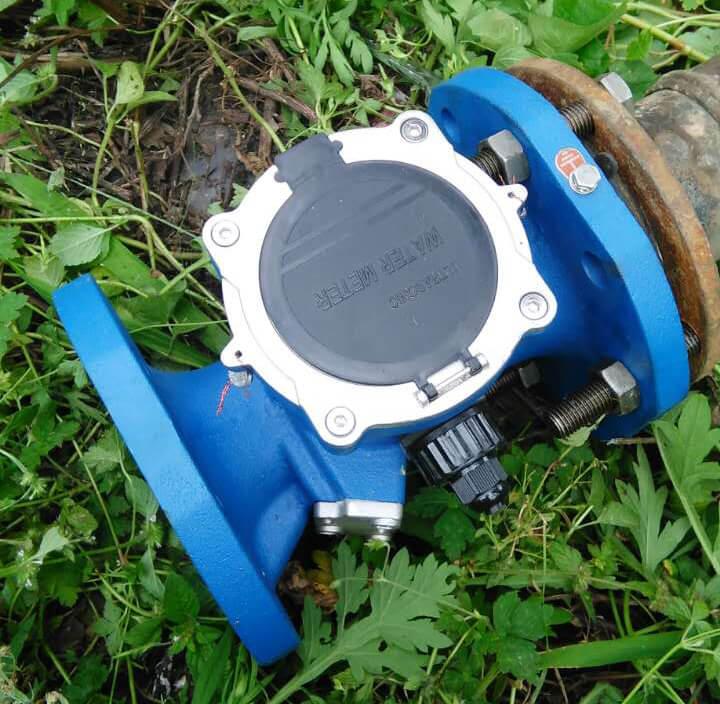 Digital Irrigation Flow Meter