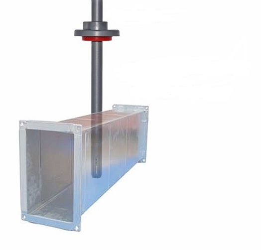 Duct Air Velocity Transmitter Sensor Hvac Speed Flow Meter
