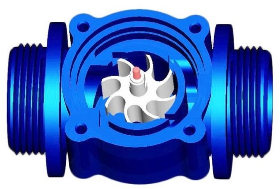 USA Flowmeter Gas Water Heater Parts Water Flow Sensor Water Flow Switch
